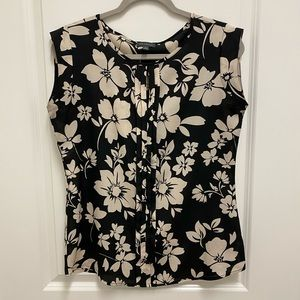 The Limited Black floral top